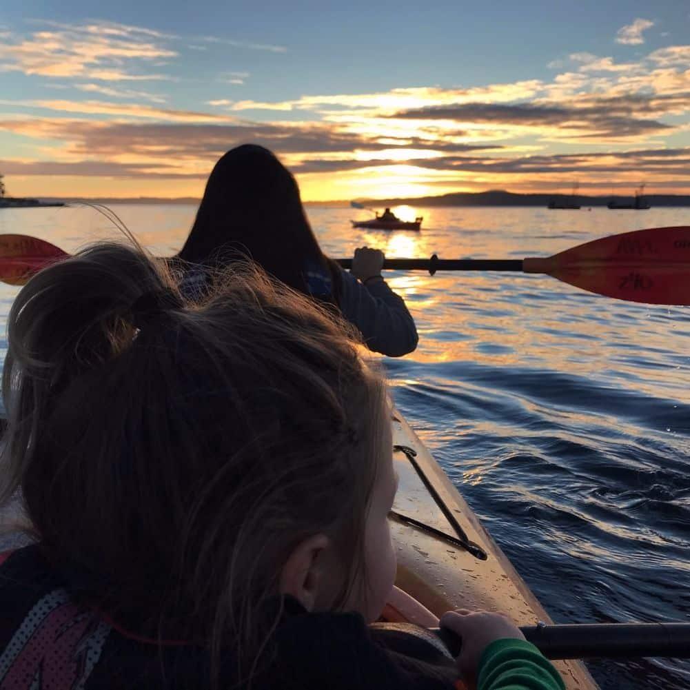 best lopez island kayaking